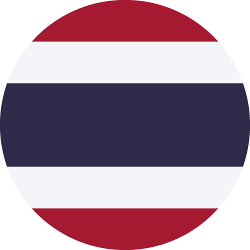 Vector flag of Thailand - Circle