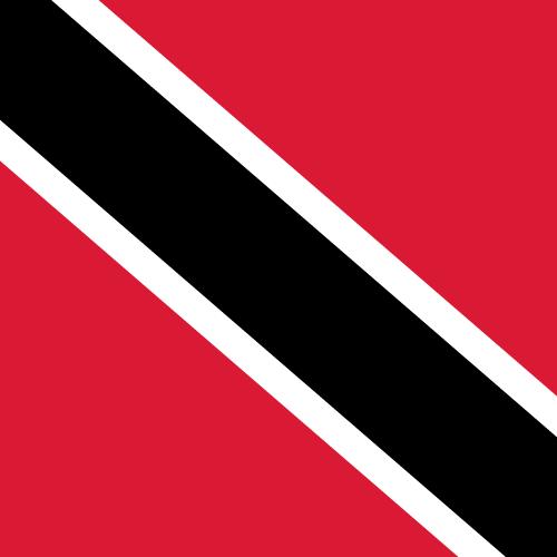Vector flag of Trinidad and Tobago - Square