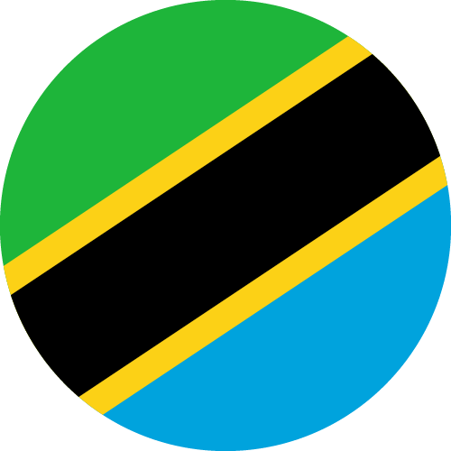 Vector flag of Tanzania - Circle