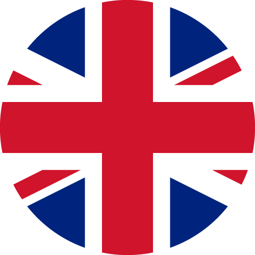 Vector flag of the United Kingdom - Circle