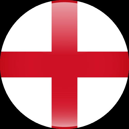 Vector flag of England - Sphere