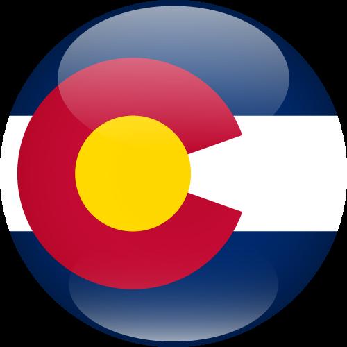 Vector flag of Colorado - Sphere