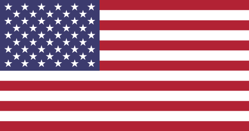 Vector flag of the United States of America
