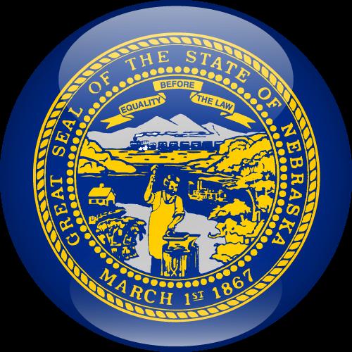 Vector flag of Nebraska - Sphere
