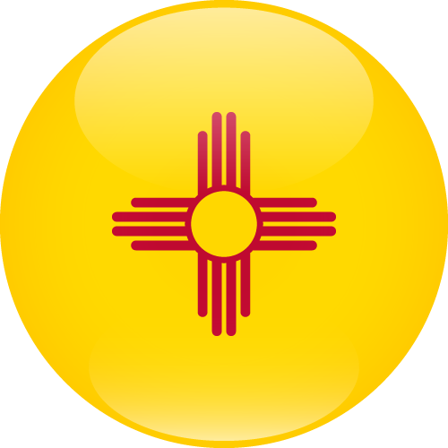 Vector flag of New Mexico - Sphere