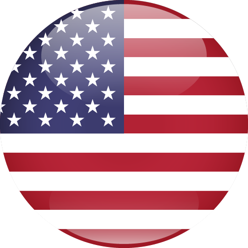 Vector flag of the United States of America - Sphere
