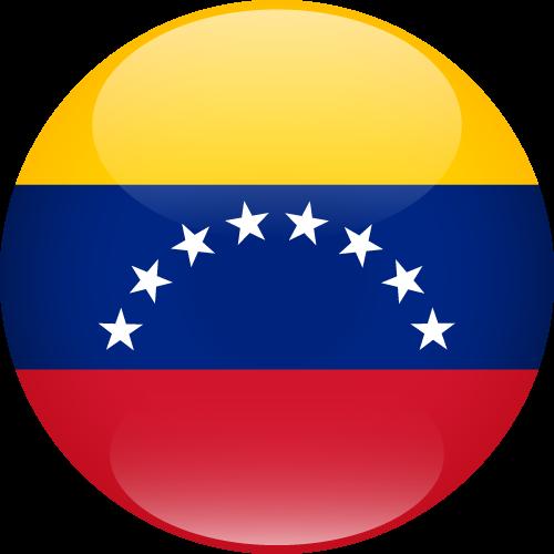 Vector flag of Venezuela - Sphere