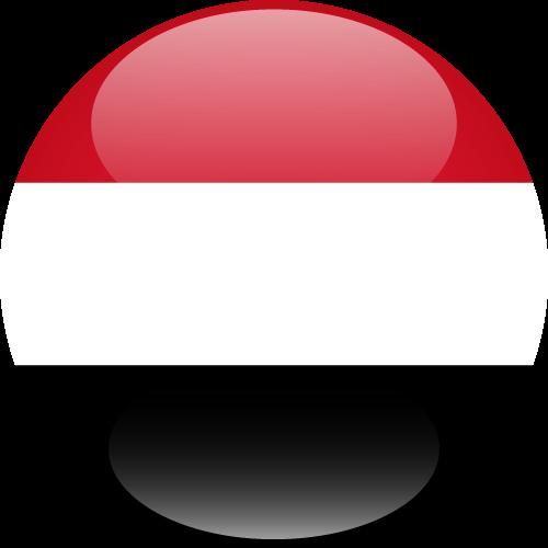 Vector flag of Yemen - Sphere
